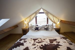 Cow Byre 2 upstairs bedroom double or twin